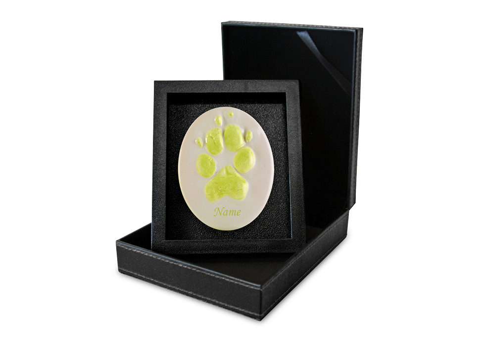 Lasting Paws Contour - Light Green Image