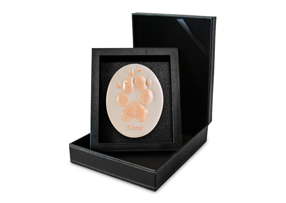 Lasting Paws Contour- Orange Image
