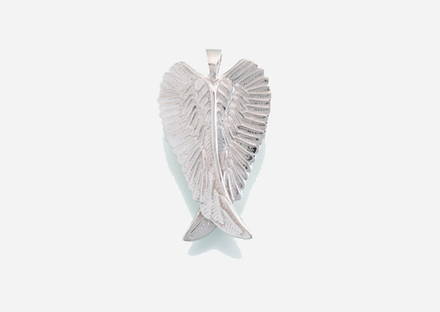 ANGEL WINGS PENDANT - STERLING SILVER Image